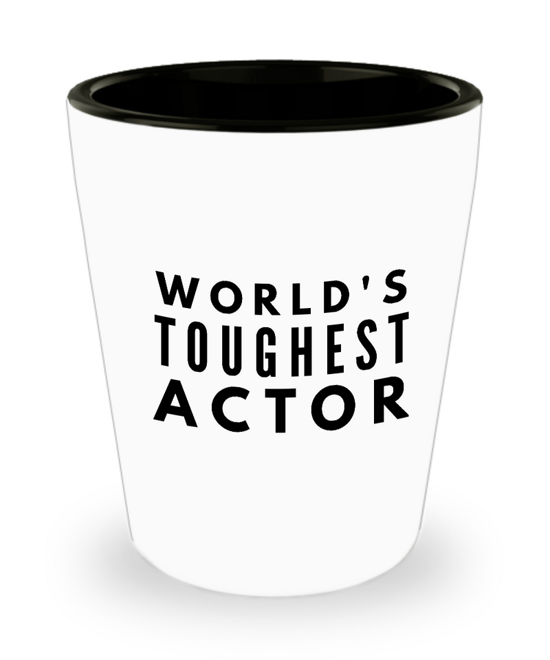 Friend Leaving Novelty Short Glass for Actor