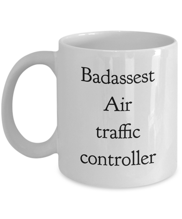 Badassest Air Traffic Controller Gag Gift for Coworker Boss Retirement or Birthday - Ribbon Canyon