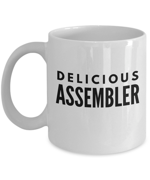 Delicious Assembler - Birthday Retirement or Thank you Gift Idea -   11oz Coffee Mug - Ribbon Canyon