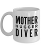 Mother Hugger Diver, 11oz Coffee Mug Gag Gift for Coworker Boss Retirement or Birthday - Ribbon Canyon