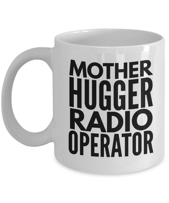 Mother Hugger Radio Operator Gag Gift for Coworker Boss Retirement or Birthday - Ribbon Canyon