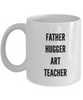 Father Hugger Art Teacher Gag Gift for Coworker Boss Retirement or Birthday - Ribbon Canyon