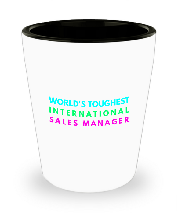 Creative International Sales Manager Short Glass - Ribbon Canyon