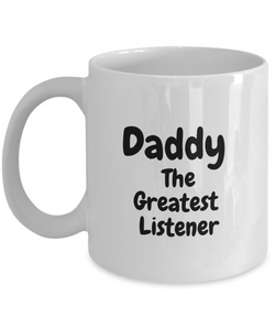Dad Father Day Novelty Present Idea from Daughter, Son, Kids - Novelty Birthday Gift for Parents - Fun Cup for Men, Women, Him, Her
