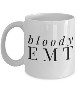 Bloody Emt Gag Gift for Coworker Boss Retirement or Birthday - Ribbon Canyon