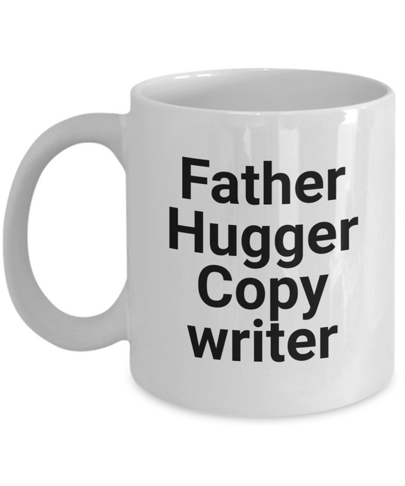 Father Hugger Copy Writer Gag Gift for Coworker Boss Retirement or Birthday - Ribbon Canyon