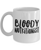 Bloody Nutritionist Gag Gift for Coworker Boss Retirement or Birthday - Ribbon Canyon