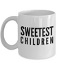 Sweetest Children - Inspired Gifts for Dad Mom Birthday Father or Mother Day   11oz Coffee Mug - Ribbon Canyon