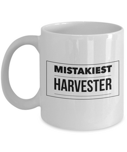 Mistakiest Harvester Gag Gift for Coworker Boss Retirement or Birthday - Ribbon Canyon