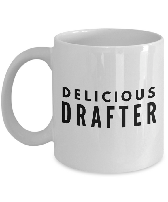 Delicious Drafter - Birthday Retirement or Thank you Gift Idea -   11oz Coffee Mug - Ribbon Canyon