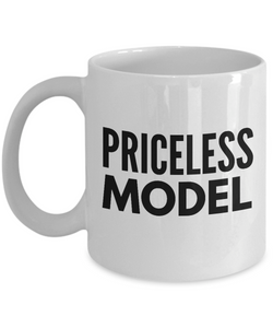 Priceless Model - Birthday Retirement or Thank you Gift Idea -   11oz Coffee Mug - Ribbon Canyon