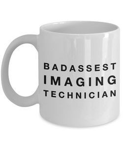 Badassest Imaging Technician Gag Gift for Coworker Boss Retirement or Birthday - Ribbon Canyon