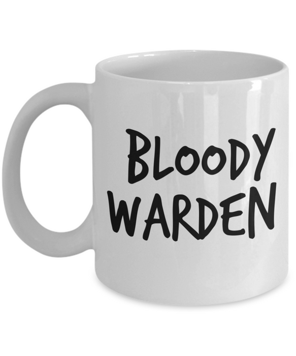Bloody Warden Gag Gift for Coworker Boss Retirement or Birthday - Ribbon Canyon