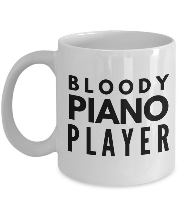 Bloody Piano Player Gag Gift for Coworker Boss Retirement or Birthday - Ribbon Canyon