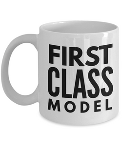 First Class Model - Birthday Retirement or Thank you Gift Idea -   11oz Coffee Mug - Ribbon Canyon