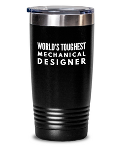 Mechanical Designer - Novelty Gift White Print 20oz. Stainless Tumblers - Ribbon Canyon
