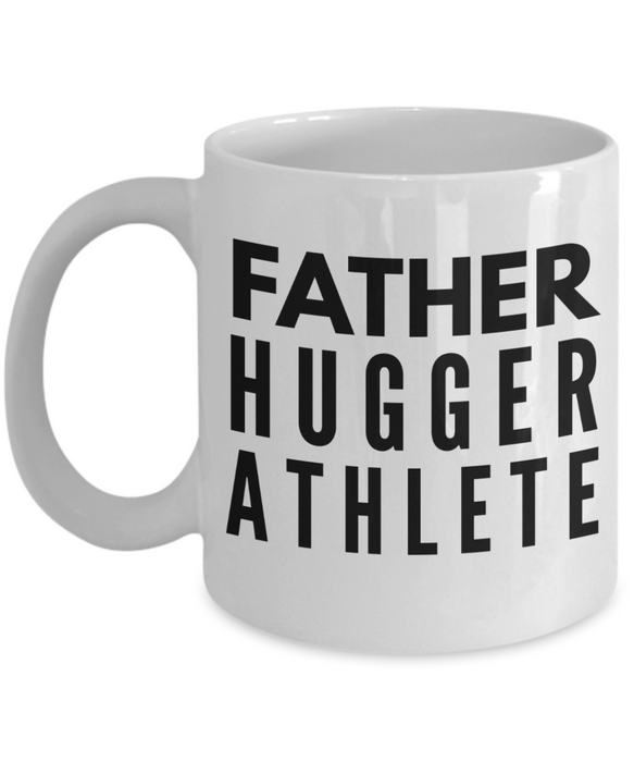 Father Hugger Athlete Gag Gift for Coworker Boss Retirement or Birthday - Ribbon Canyon