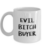 Evil Bitch Butcher, 11Oz Coffee Mug Unique Gift Idea Coffee Mug - Father's Day / Birthday / Christmas Present - Ribbon Canyon