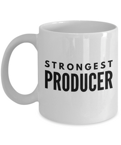 Strongest Producer - Birthday Retirement or Thank you Gift Idea -   11oz Coffee Mug - Ribbon Canyon