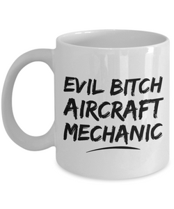 Funny Aide Quote 11Oz Coffee Mug , Evil Bitch Aide for Dad, Grandpa, Husband From Son, Daughter, Wife for Coffee & Tea Lovers - Ribbon Canyon
