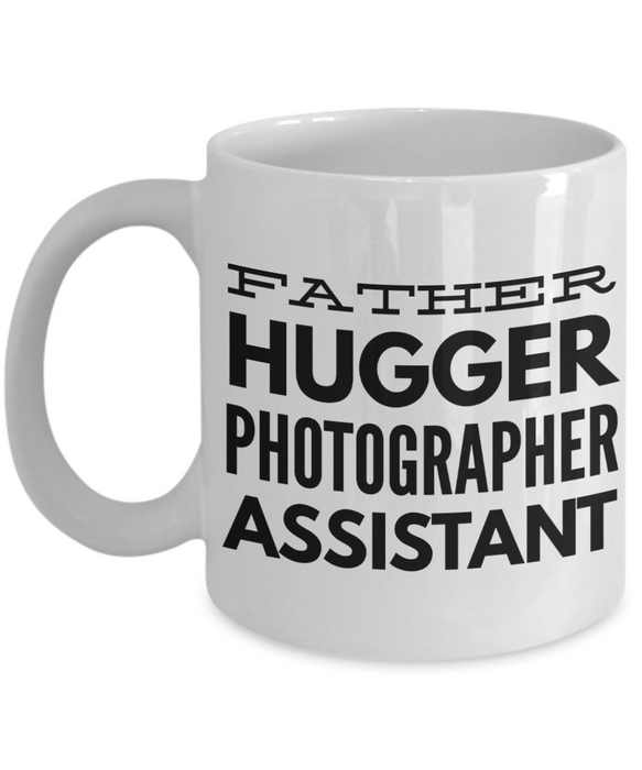 Father Hugger Photographer Assistant Gag Gift for Coworker Boss Retirement or Birthday - Ribbon Canyon