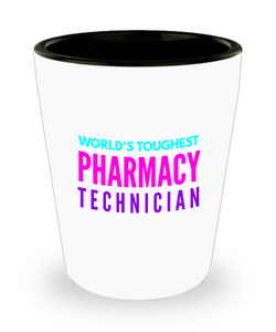 Creative Pharmacy Technician Short Glass - Ribbon Canyon