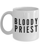 Bloody Priest Gag Gift for Coworker Boss Retirement or Birthday - Ribbon Canyon