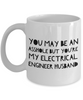 Funny Mug You May Be An Asshole But You'Re My Electrical Engineer Husband   11oz Coffee Mug Gag Gift for Coworker Boss Retirement - Ribbon Canyon
