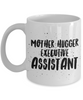 Mother Hugger Executive Assistant, 11oz Coffee Mug Gag Gift for Coworker Boss Retirement or Birthday - Ribbon Canyon