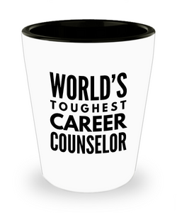Friend Leaving Novelty Short Glass for Career Counselor