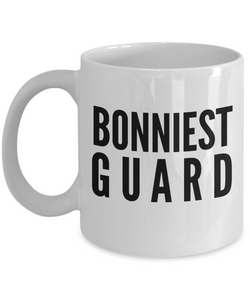 Bonniest Guard - Birthday Retirement or Thank you Gift Idea -   11oz Coffee Mug - Ribbon Canyon