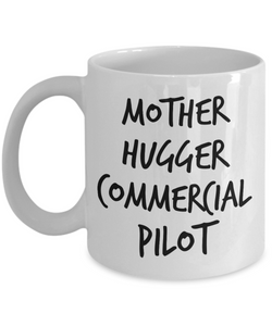 Mother Hugger Commercial Pilot Gag Gift for Coworker Boss Retirement or Birthday - Ribbon Canyon