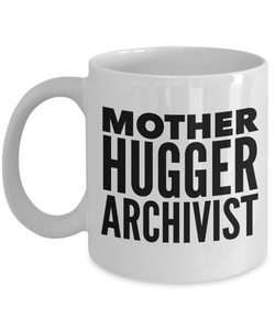 Mother Hugger Archivist Gag Gift for Coworker Boss Retirement or Birthday - Ribbon Canyon