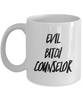 Evil Bitch Counselor, 11Oz Coffee Mug for Dad, Grandpa, Husband From Son, Daughter, Wife for Coffee & Tea Lovers - Ribbon Canyon