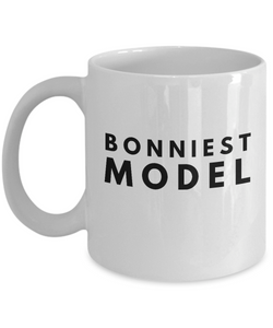 Bonniest Model - Birthday Retirement or Thank you Gift Idea -   11oz Coffee Mug - Ribbon Canyon