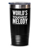#GB Tumbler White NAME 3459 World's Toughest MELODY
