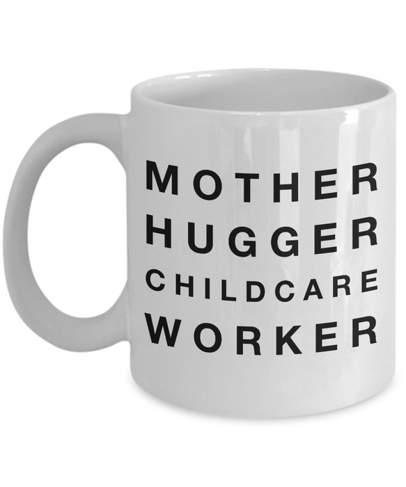 Mother Hugger Childcare Worker Gag Gift for Coworker Boss Retirement or Birthday - Ribbon Canyon