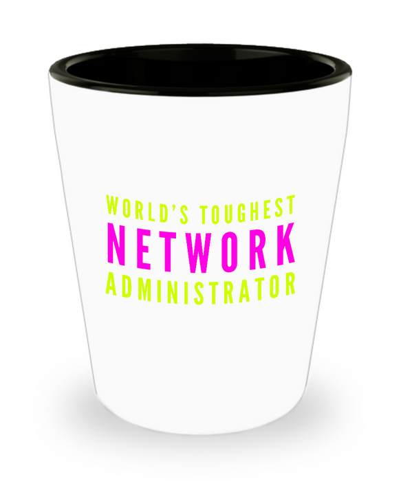 Creative Network Administrator Short Glass - Ribbon Canyon