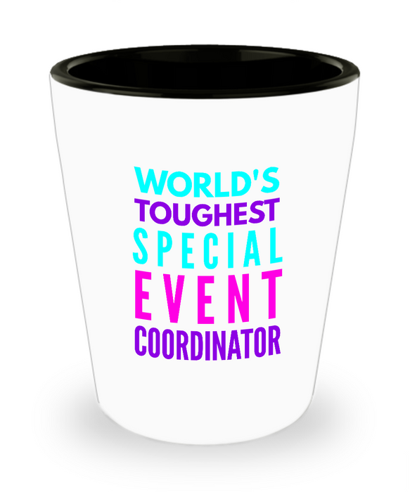 Creative Special Event Coordinator Short Glass - Ribbon Canyon