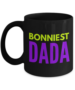 Bonniest Dada - Family Gag Gifts For Mom or Dad Birthday Father or Mother Day -   11oz Coffee Mug - Ribbon Canyon