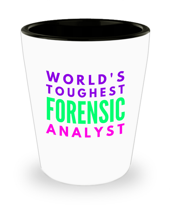 Creative Forensic Analyst Short Glass - Ribbon Canyon