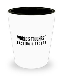 Friend Leaving Novelty Short Glass for Casting Director