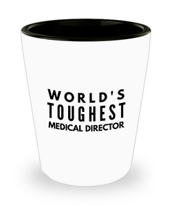 Friend Leaving Novelty Short Glass for Medical Director