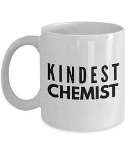 Kindest Chemist - Birthday Retirement or Thank you Gift Idea -   11oz Coffee Mug - Ribbon Canyon