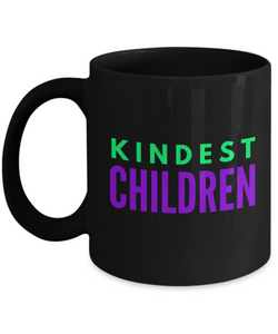 Kindest Children - Family Gag Gifts For Mom or Dad Birthday Father or Mother Day -   11oz Coffee Mug - Ribbon Canyon