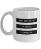 Just Shut Up I'm Air Traffic Controller, 11Oz Coffee Mug Unique Gift Idea for Him, Her, Mom, Dad - Perfect Birthday Gifts for Men or Women / Birthday / Christmas Present - Ribbon Canyon