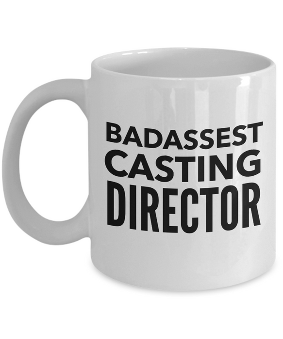 Badassest Casting Director Gag Gift for Coworker Boss Retirement or Birthday - Ribbon Canyon