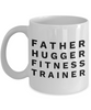Father Hugger Fitness Trainer, 11oz Coffee Mug  Dad Mom Inspired Gift - Ribbon Canyon