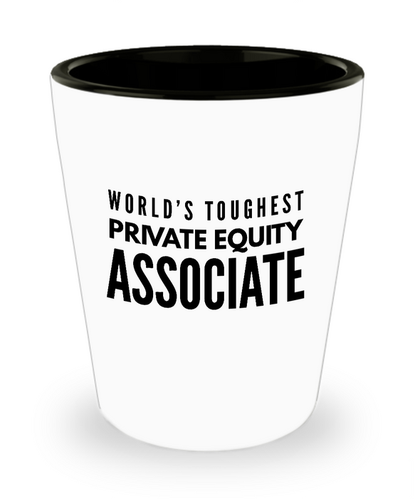 Friend Leaving Novelty Short Glass for Private Equity Associate