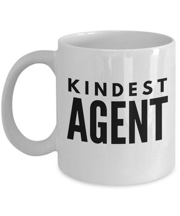 Kindest Agent - Birthday Retirement or Thank you Gift Idea -   11oz Coffee Mug - Ribbon Canyon